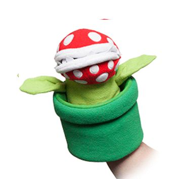 Super Mario Piranha Plant Hand Puppet - Exclusive