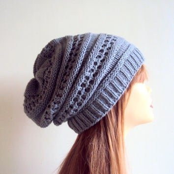 Celebrity slouchy beanies patterns