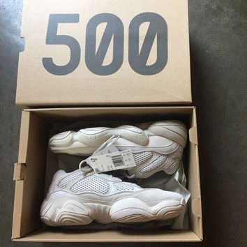Kalete ADIDAS YEEZY 500 BLUSH DESERT RAT MEN'S SIZE 7. 100% Authentic.