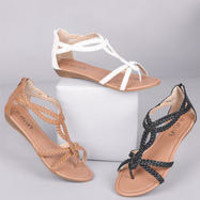 Demi Braid Sandal