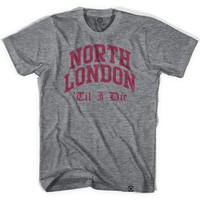 Arsenal North London Til I Die T-shirt