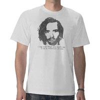 Vintage Charles Manson T-shirts from Zazzle.com