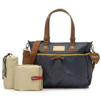 Storksak® Babymel™ Lily Diaper Bag in Navy