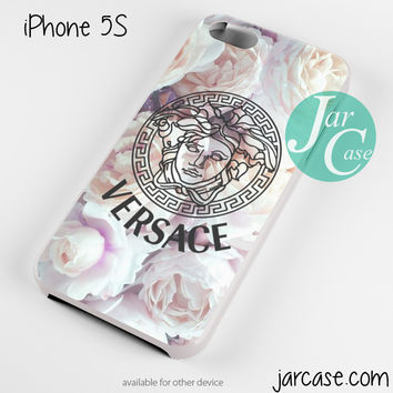 Versace Flower Art Phone case for iPhone 4/4s/5/5c/5s/6/6 plus