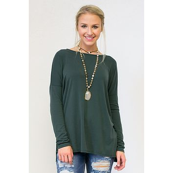 Movable Modal Long Sleeve Top