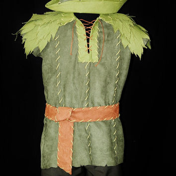 Deluxe Peter Pan Custom Costume by NeverbugCreations on Etsy