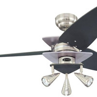 Vector Elite 42-Inch Reversible Three-Blade Indoor Ceiling Fan