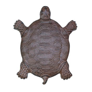 Cast Iron Turtle Stepping Stone