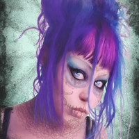 Day of the Dead portrait of my Daughter Fund by ShayneoftheDead