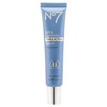 No7 Lift & Luminate Triple Action Serum 1 oz