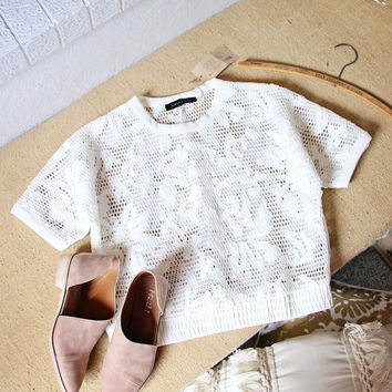 Sporty Lace Tee