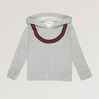 GUCCI - Felt cotton-blend hoody 4-12 years | Selfridges.com