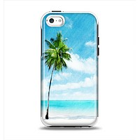 The Paradise Beach Palm Tree Apple iPhone 5c Otterbox Symmetry Case Skin Set