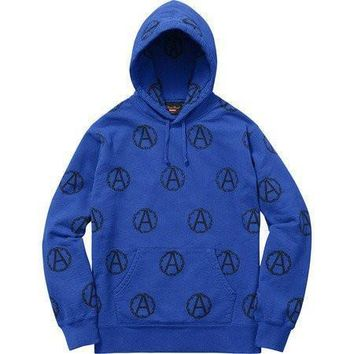 Supreme Undercover Anarchy Hoodie- Blue