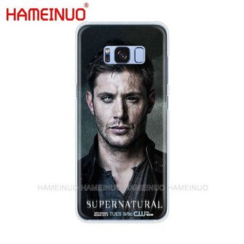 HAMEINUO Supernatural Jared Padalecki cell phone case cover for Samsung Galaxy E5 E7 Note 3,4,5 8 ON5 ON7 grand G530 2016