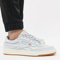 Reebok Revenge Plus TL Trainers In Blue CN3999 at asos.com