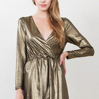 Gold Glory Dress*