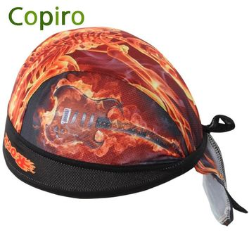 Copiro Windproof Bike Bicycle Hat Pirate Headscarf Cycling Cap Bandana Hood MTB Headband Men Women Sport Head Scarf Free Size