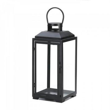 Large Square Frame Black Lantern