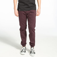 House Of Triot Mens Twill Jogger Pants Purple  In Sizes