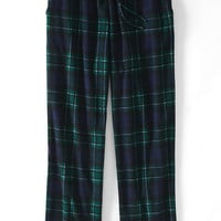 Men's Print Fleece Pajama Pants from Lands' End