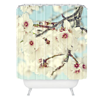 Lisa Argyropoulos Poetry Shower Curtain