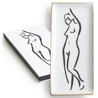 Rosanna Ladies Choice Standing Side Nude Tray