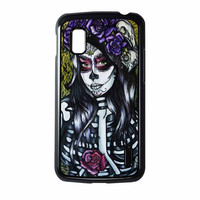 Floral Sugar Skull Day Of The Dead Nexus 4 Case