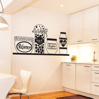 Vinyl Wall Decal Sticker Patience Love and Kindness Ingredients #OS_DC634
