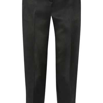 The Row - Locu silk-satin tapered pants