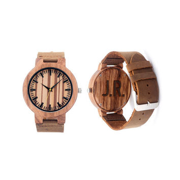 Wooden Watch for Men, personalized wooden watch , wood watches, Engraved Watches, Minimalist Watch, Watch for Groomsmen Gifts, Anniversary G