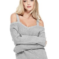 Britta Cold-Shoulder Sweater at Guess