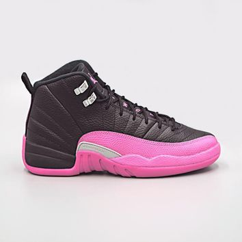 HCXX JORDAN - Girls - GG Retro 12 Retro - Black/Pink