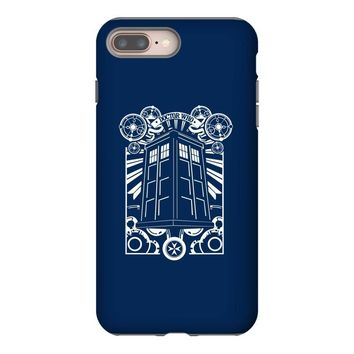 tardis gallifreyan tee iPhone 8 Plus