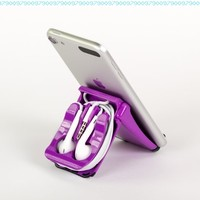 Square Jellyfish Purple EarPod Case (EarPods not included)