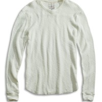Lucky Brand Lived In Thermal Crew Mens - Marshmellow