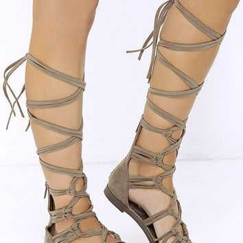 Mary Gladiator Sandals