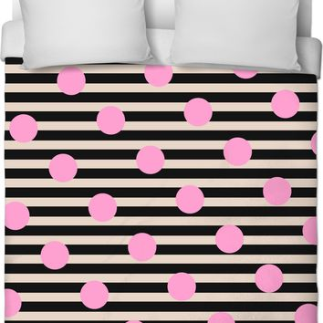 ROB Stripes and Polka Dots Duvet Cover