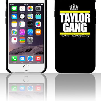 taylor gang over everything crown 5 5s 6 6plus phone cases