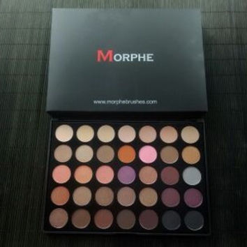 Morphe35 color eye shadow plate morphe 35n & 35w & 35t & 35p & 35e & 35o [11405537295]