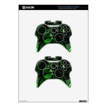Forest Green Xbox 360 Controller Skin