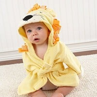 Adorable Baby Spa Robe (Monogram Available) - Lion
