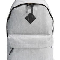 Men's Topman Grey Melange Backpack - Grey