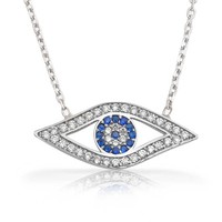 Bling Jewelry Eyes on Me Necklace
