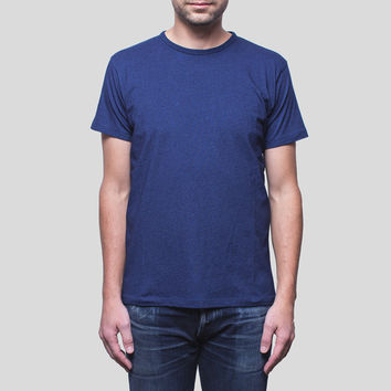 Apolis Crew Neck T-Shirt / Indigo