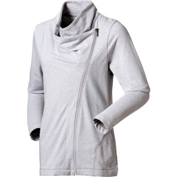 Reebok Women's Asymmetrical Cowl Neck Zip Jacket | DICK'S Sporting Goods