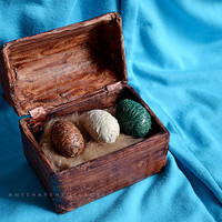 Game of Thrones Dragon Eggs Chest miniature replica