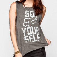 Fox Outlaw Womens Muscle Tank Black  In Sizes