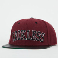 YOUNG & RECKLESS Reckless Block Mens Snapback Hat   202672320 | Snapbacks | Tillys.com
