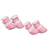 "Pet Life Shearling ""DUGGZ"" Dog Shoes"